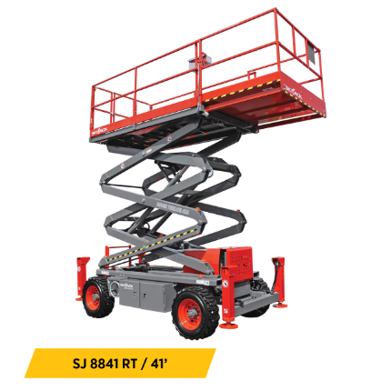 Rough Terrain Scissor Lifts Equipment