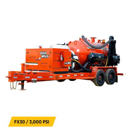 Vacuum Excavators Equipment