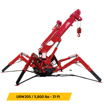 SPYDERCRANE Equipment