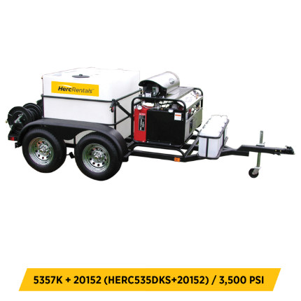 Tow Behind Pressure Washers Equipment