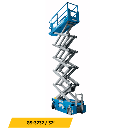 Electric Scissor Lifts Equipment