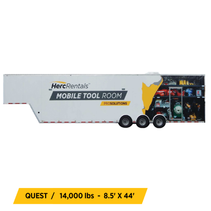 Mobile Tool Room Equipment
