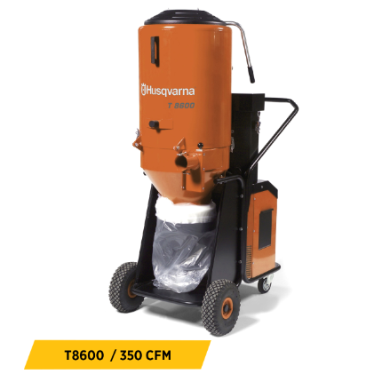 Dust Control Vacuums Equipment