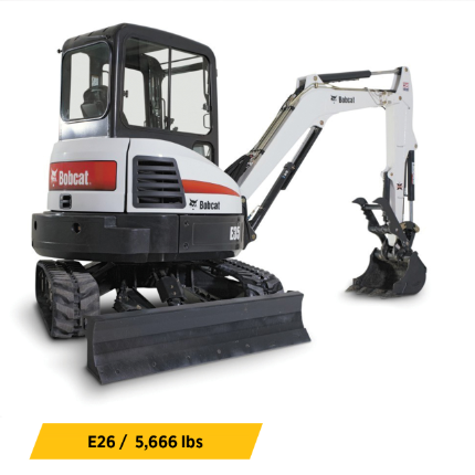 Compact Excavators Equipment