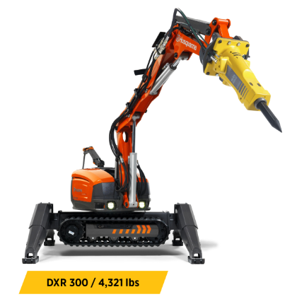 Demolition Robots Equipment