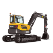 Medium Range Excavators