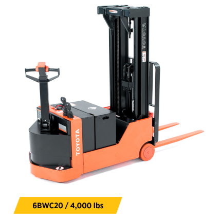 Electric Pallet Jacks & Walkie Stackers Equipment