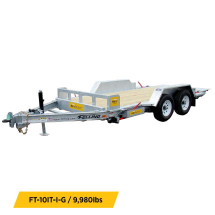 Tilt Trailers Equipment